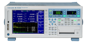 Yokogawa Meters & Instruments Releases WT3000E Precision Power Analyzer