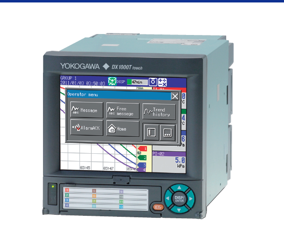 Original yokogawa Model DX1000T/DX2000T paperless recorder
