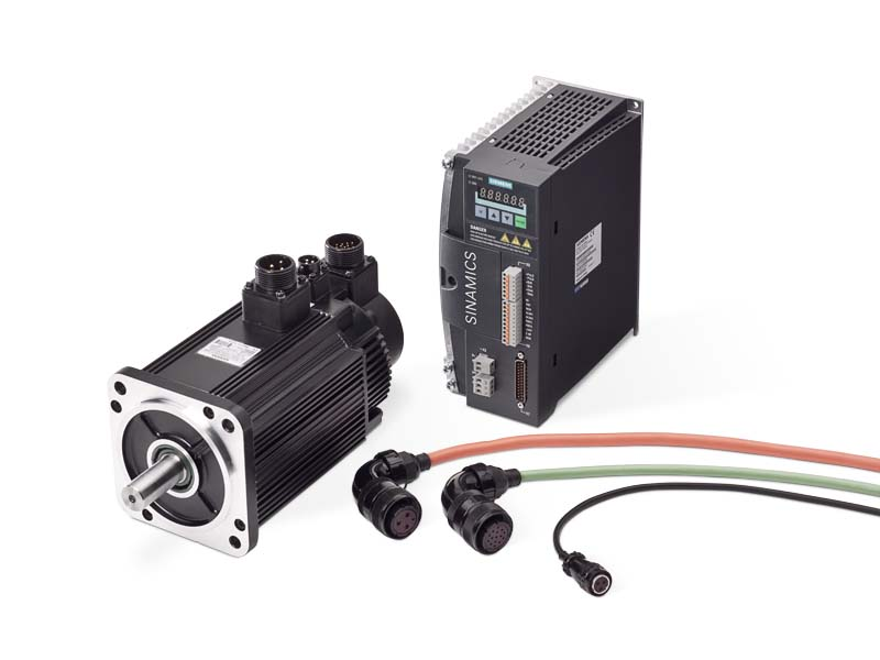 Siemens SINAMICS V60 Basic Servo Drive System with 1FL5 servomotors
