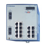 Hirschmann RS20-1600S2M2SDAU 943 434-052 Compact OpenRail unmanaged Fast Ethernet switch 8-24 ports, with 1-2 fiber ports