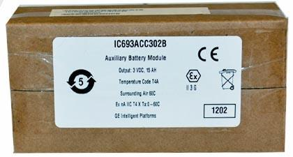 IC693ACC302 High capacity battery pack