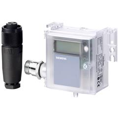 Siemens QBM4100-1D Air duct differential pressure sensor with display Building Technologies HVAC Sensors Pressure